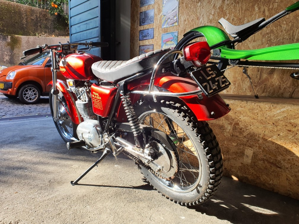 Triumph TrailBlazer 250